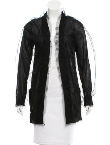 Dolce & Gabbana Sheer Tulle Cardigan w/ Tags None