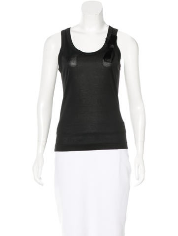 Dolce & Gabbana Embellished Sleeveless Top None