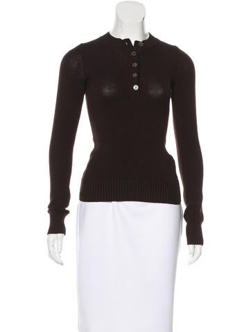 Dolce & Gabbana Knit Wool Top None
