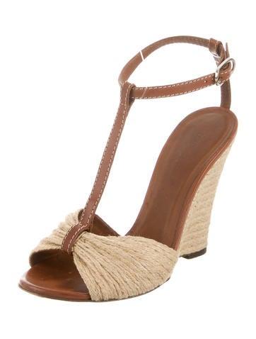 Jute Wedge Sandals
