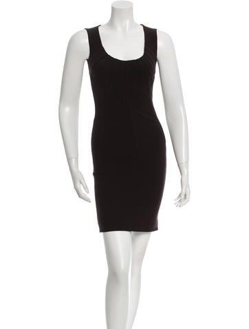 Dolce & Gabbana Wool Sleeveless Dress None