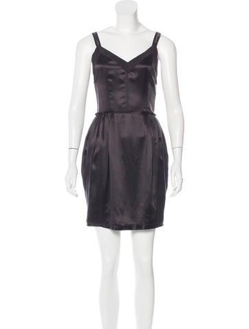 Dolce & Gabbana Silk Mini Dress w/ Tags None