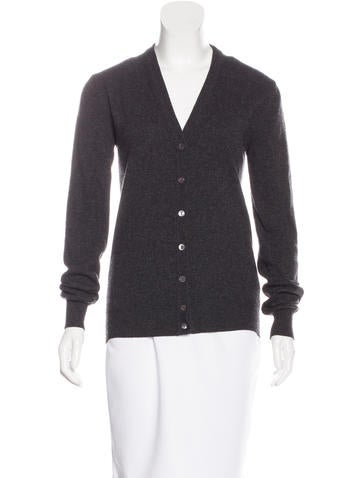 Dolce & Gabbana Cashmere Button-Up Cardigan None