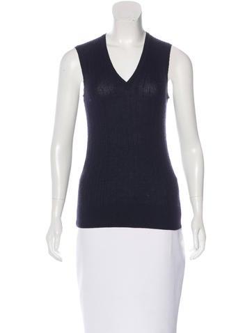 Dolce & Gabbana Sleeveless Knit Top None