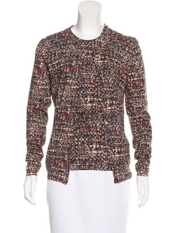 Dolce & Gabbana Printed Wool Cardigan Set None