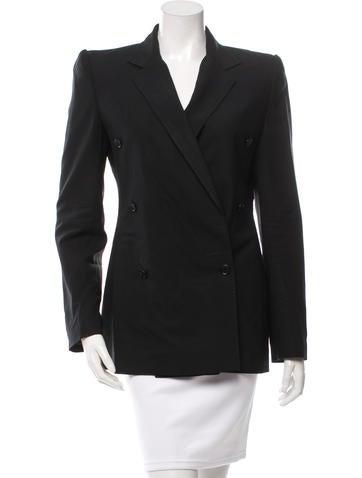 Dolce & Gabbana Wool Structured Blazer None