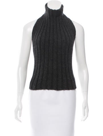 Dolce & Gabbana Wool Sleeveless Sweater None