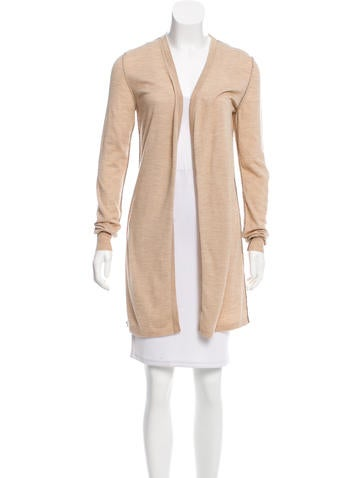 Dolce & Gabbana Virgin Wool Long Cardigan None