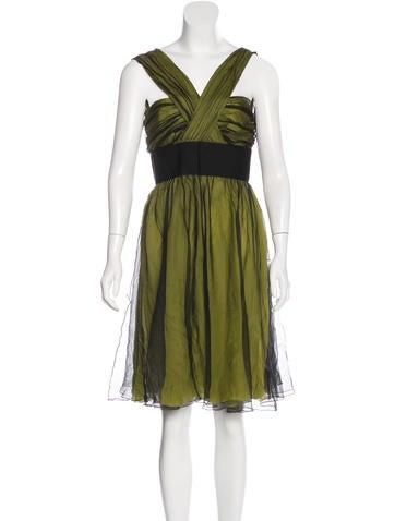 Dolce & Gabbana Sleeveless Mini Dress w/ Tags None