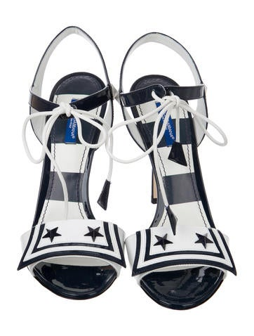 2017 Patent Leather Keira Sandals w/ Tags