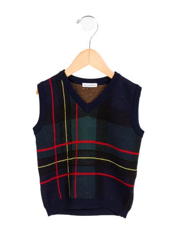 Dolce & Gabbana Boys' Wool Sweater Vest None