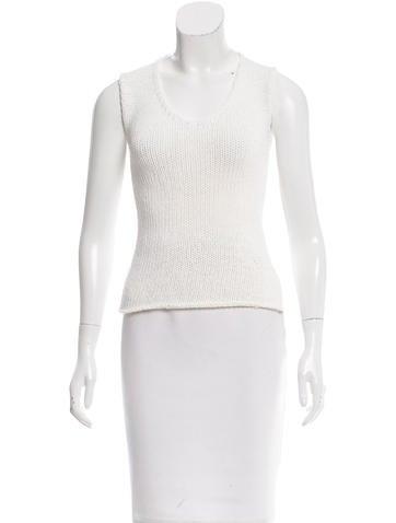Dolce & Gabbana V-Neck Knit Top None
