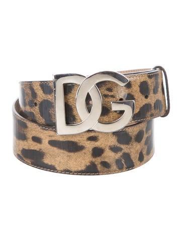 Leopard Logo Belt