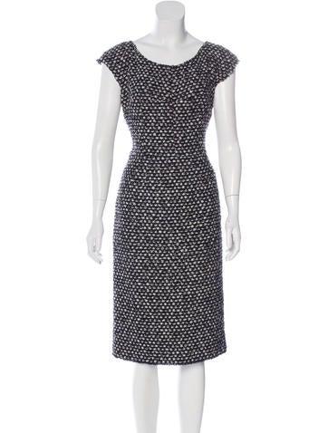 Bouclé Sheath Dress