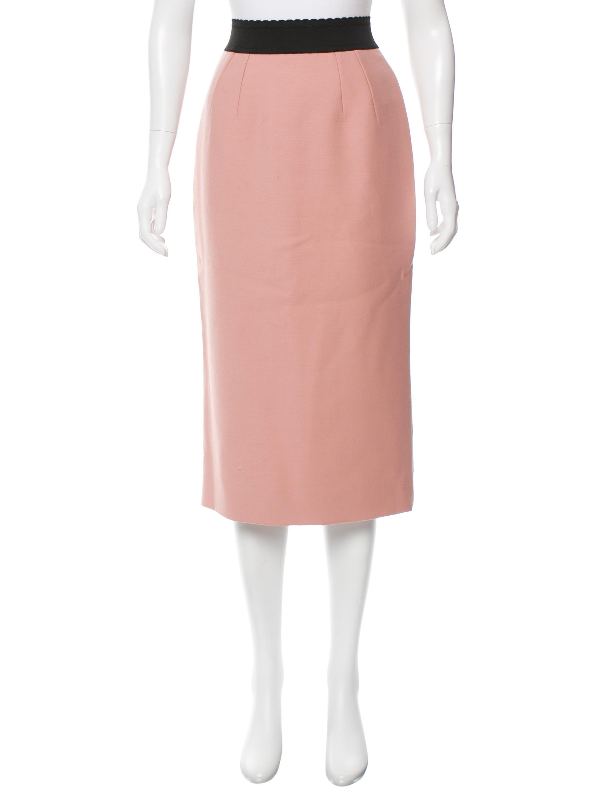 dolce gabbana classic midi skirt clothing dag74002