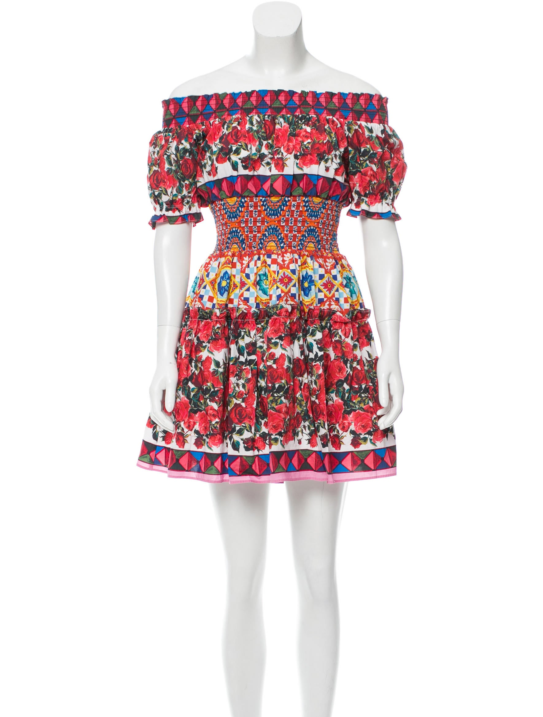 ff179e92 Dolce & Gabbana 2017 Mambo Print Dress - Clothing - DAG75017 | The ...