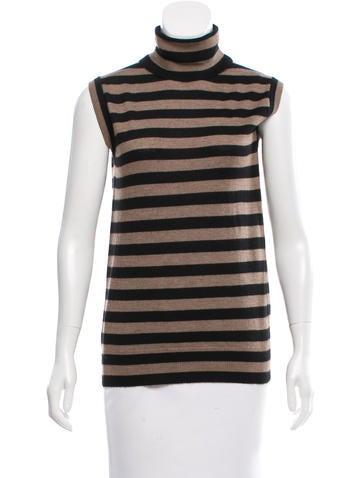 Dolce & Gabbana Cashmere Striped Top None