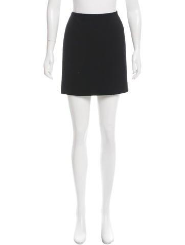 Dolce & Gabbana Virgin Wool Mini Skirt None