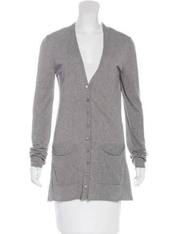 Dolce & Gabbana Button-Up Knit Cardigan None