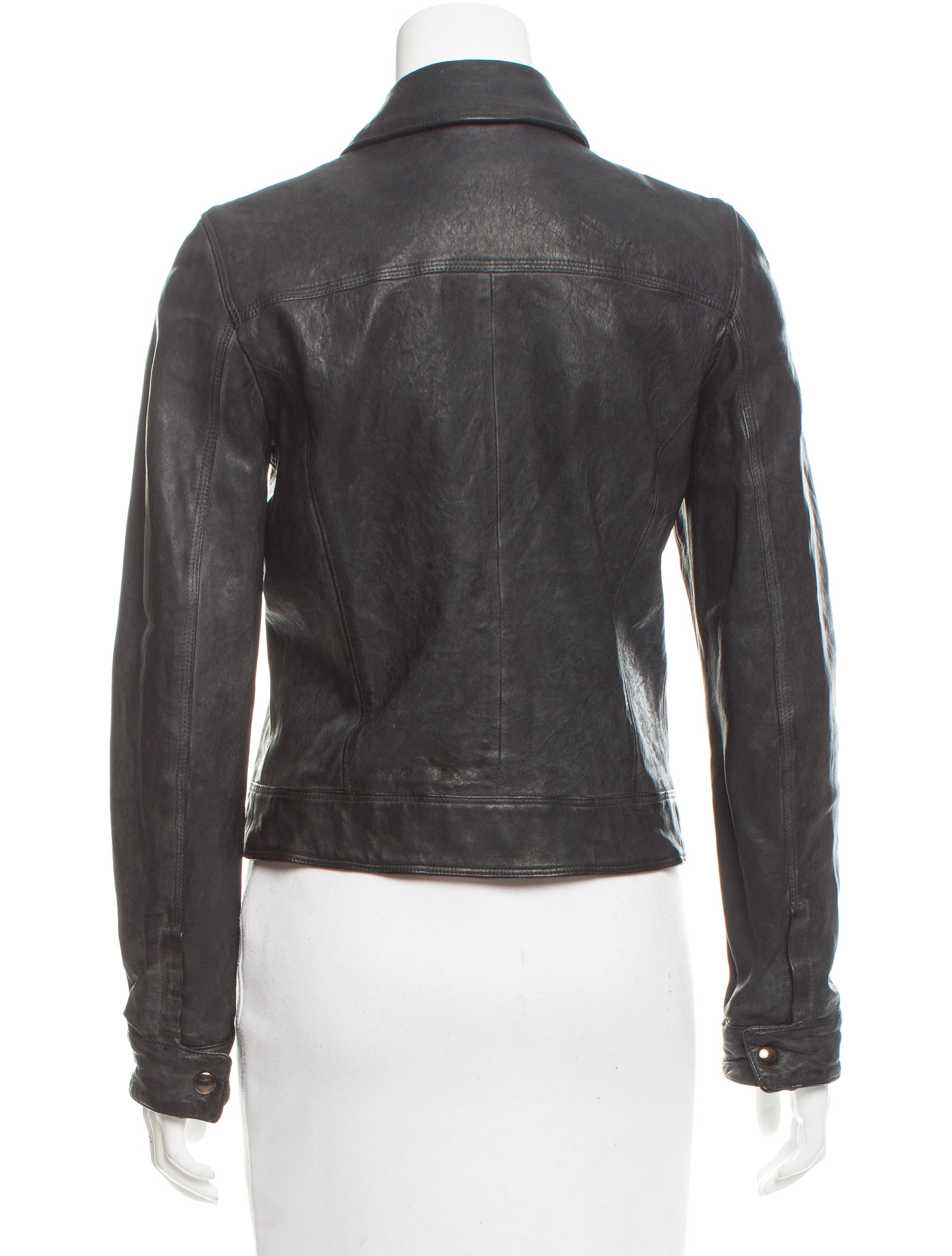 Dolce gabbana lightweight leather jacket clothing for Leather jacket and shirt