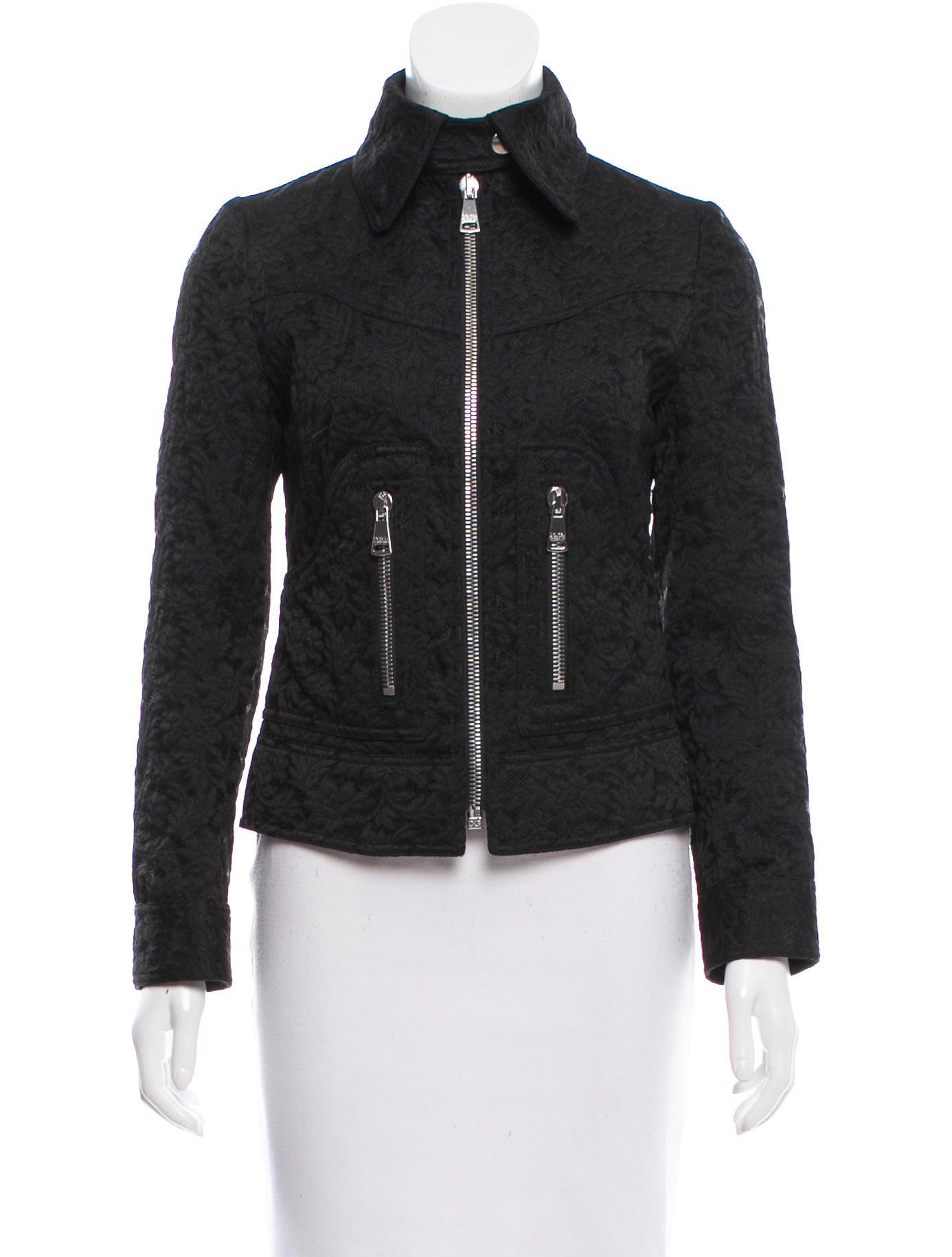 dolce gabbana floral jacquard jacket clothing dag76290 the realreal. Black Bedroom Furniture Sets. Home Design Ideas