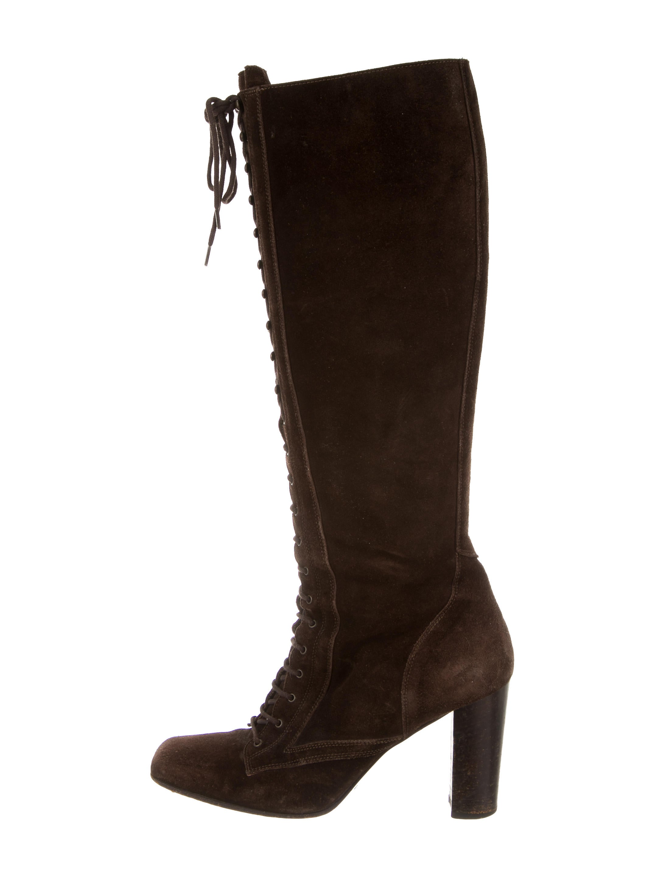 dolce gabbana suede lace up boots shoes dag76731