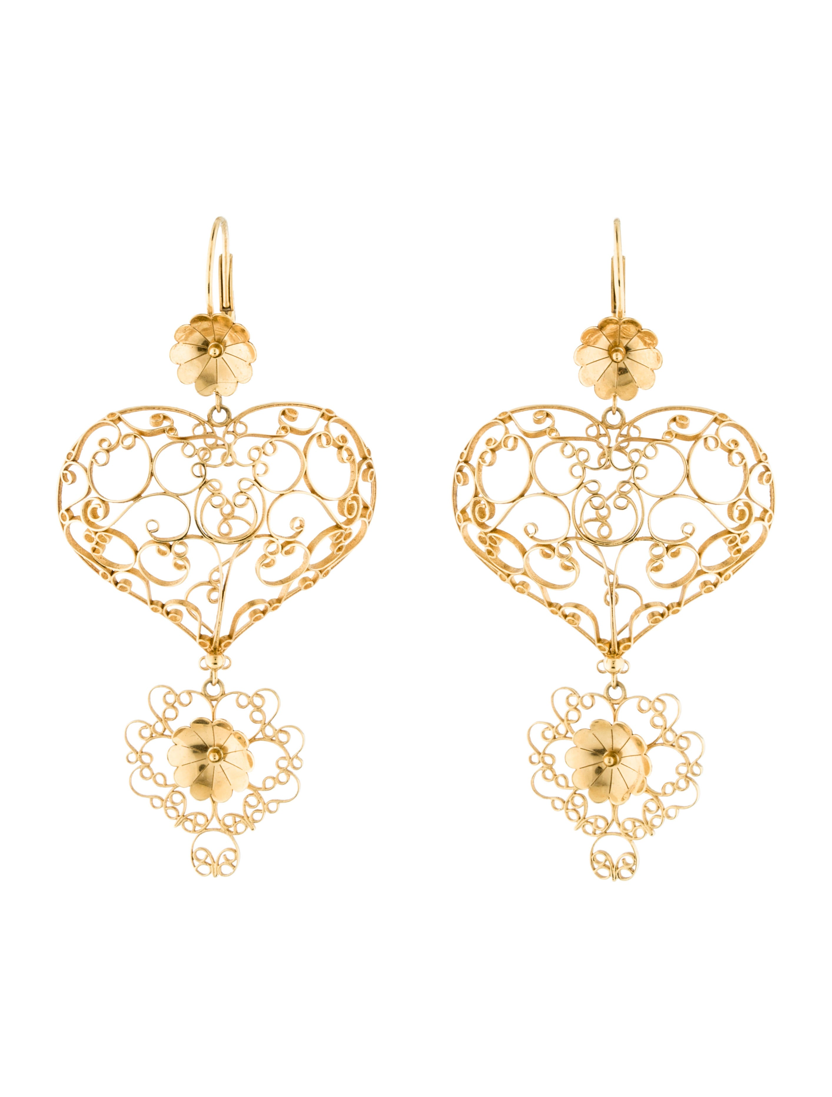 Boucles D'oreilles Goutte Coeur Dolce & Gabbana vakO6