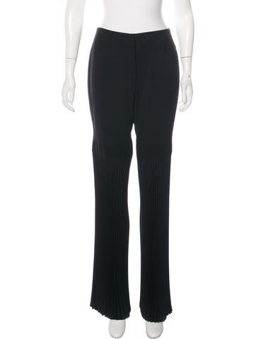 Dolce & Gabbana Wool Pleated Pants None