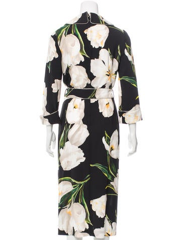 2016 Tulip Print Belted Dress w/ Tags