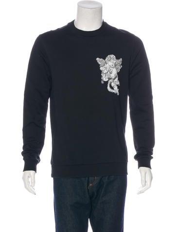 Dolce & Gabbana Cherub-Embroidered Sweatshirt None