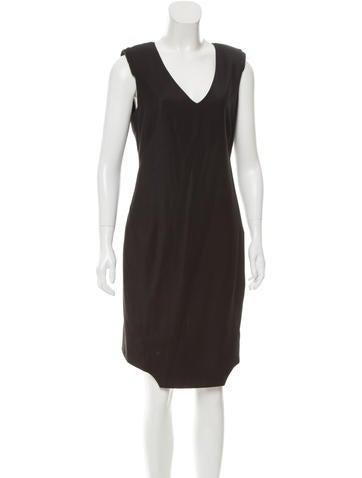 Dolce & Gabbana Asymmetrical Wool Dress None