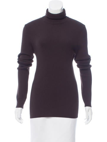Dolce & Gabbana Wool Turtleneck Top None