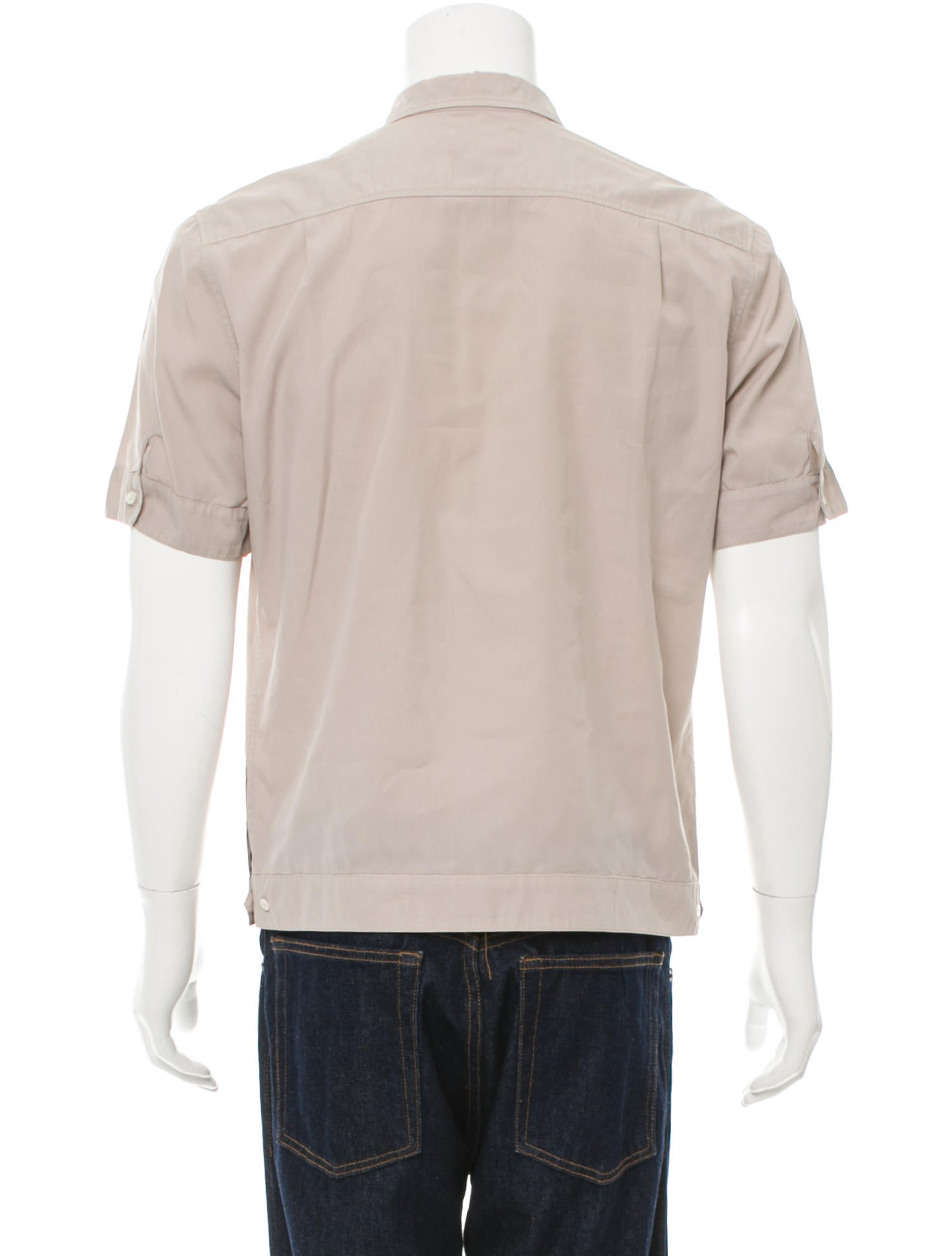 Dolce Gabbana Utility Button Up Shirt Clothing