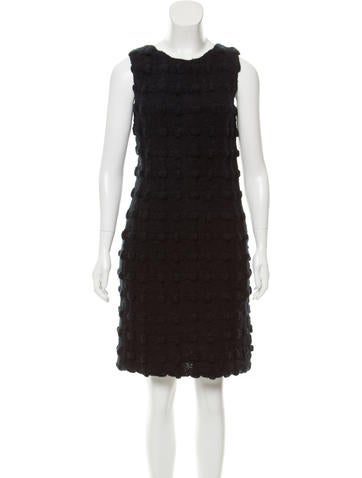 Dolce & Gabbana Sleeveless Textured Dress w/ Tags None