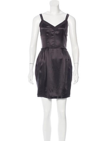 Dolce & Gabbana Silk Mini Dress w/ Tags None