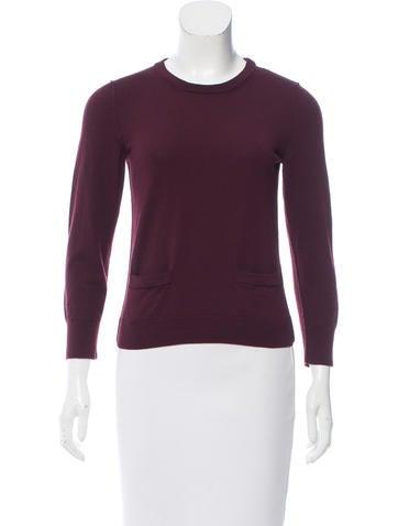 Dolce & Gabbana Rib Knit Crew Neck Sweater None
