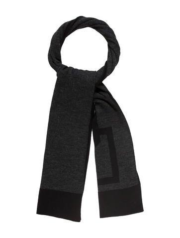 Dolce & Gabbana Logo-Accented Knit Scarf None