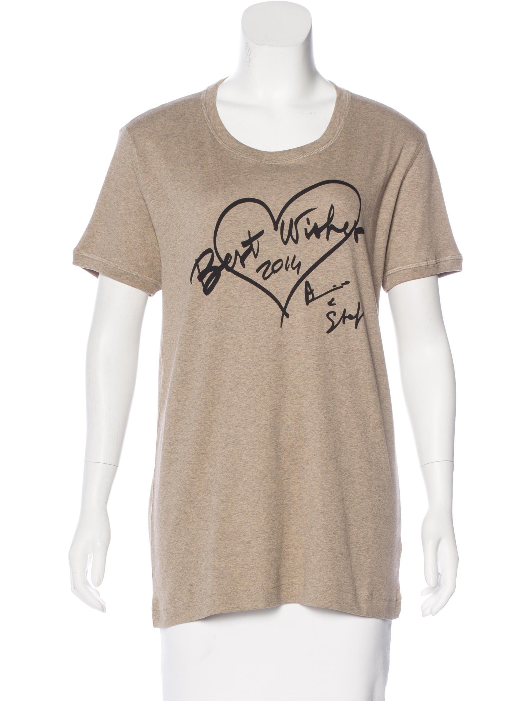 Dolce gabbana crew neck printed t shirt clothing for Dolce and gabbana printed t shirts