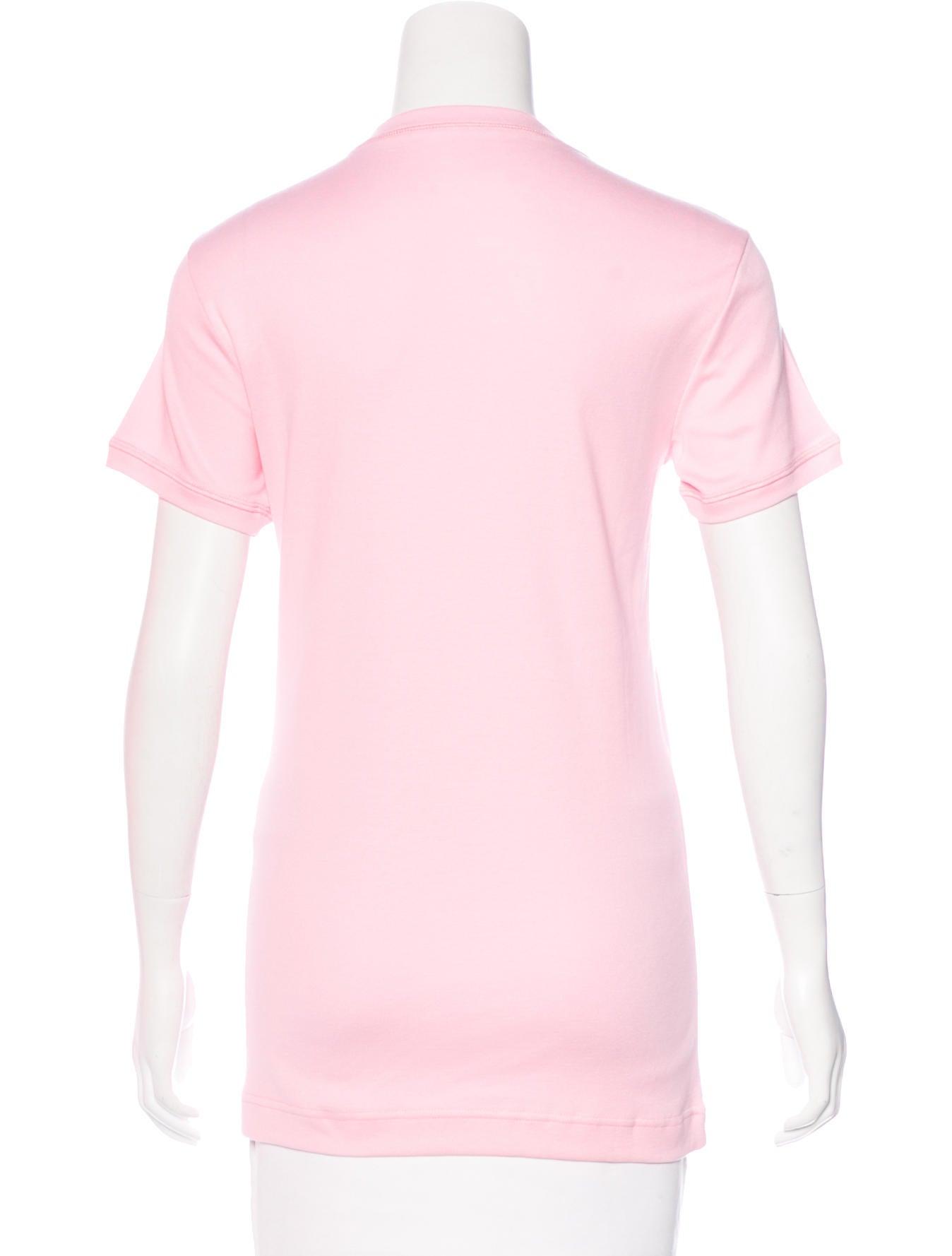 Dolce gabbana short sleeve printed t shirt clothing for Dolce gabbana t shirt women