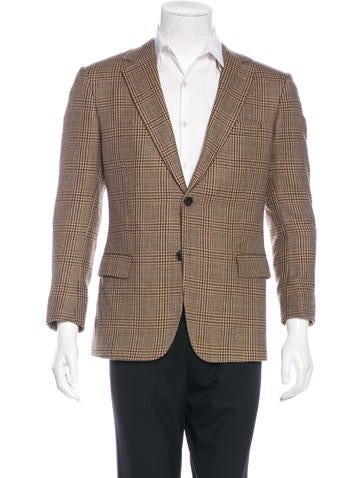 Dolce & Gabbana Wool Houndstooth Sport Coat None