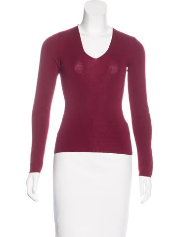 Dolce & Gabbana Knit Long Sleeve Top None