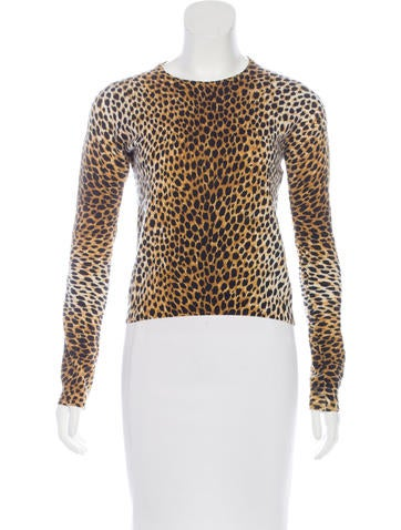 Dolce & Gabbana Printed Long Sleeve Sweater None