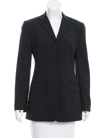 Dolce & Gabbana Notch-Collar Wool Jacket None