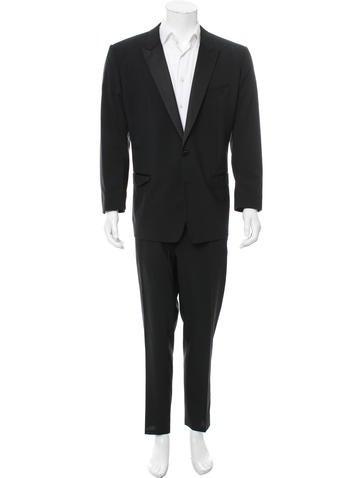 Dolce & Gabbana Virgin Wool Martini Tuxedo None
