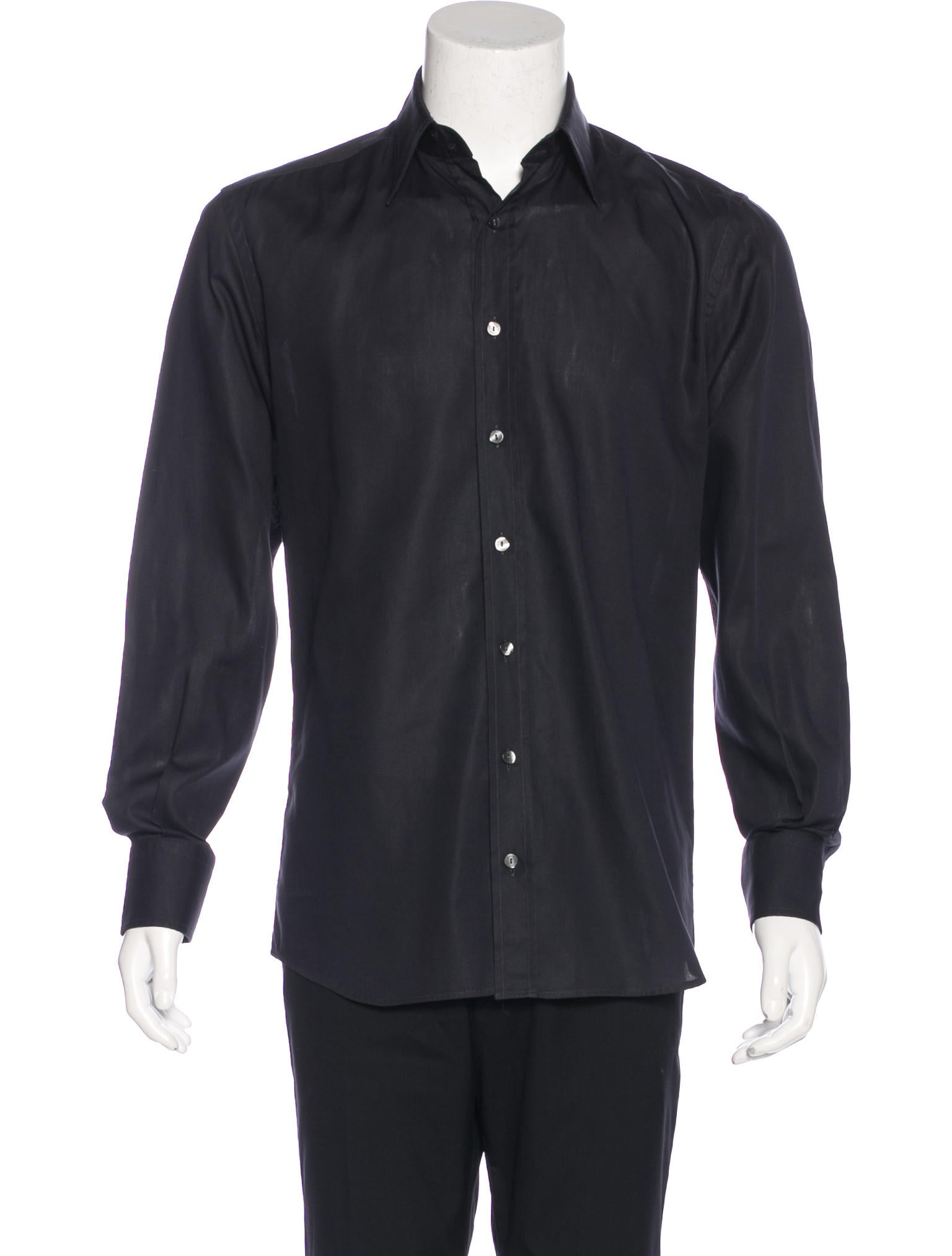 Dolce gabbana tailored dress shirt clothing dag84344 for Tailoring a dress shirt