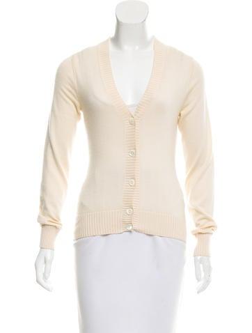 Dolce & Gabbana Cashmere-Silk Blend Button-Up Cardigan None