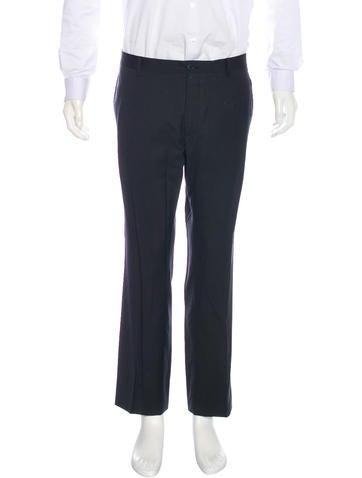 Dolce & Gabbana Pinstripe Virgin Wool Pants None