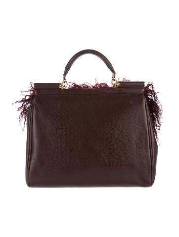 cfe100d65f30 Dolce   Gabbana Mongolian Lamb Miss Sicily w  Tags - Handbags - DAG84587