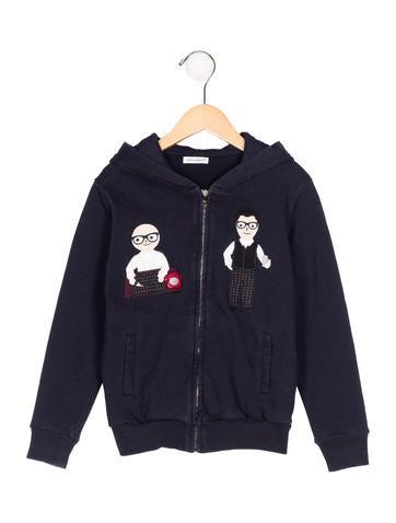 Dolce & Gabbana Boys' DG Family Hooded Sweatshirt None