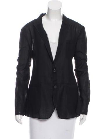 Dolce & Gabbana Lightweight Wool Blazer None